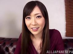 Hot POV fun with the kinky Asian babe Kotone Amamiya