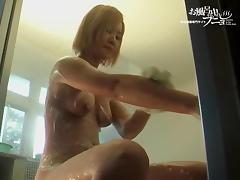 Bathing, Amateur, Asian, Bath, Bathing, Bathroom