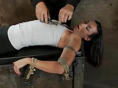 Stunning Wenona gets whipped and toyed in bondage video