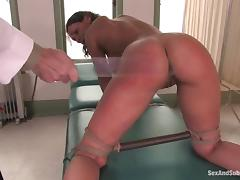 Charley Chase gets tormented and banged by lewd doctor Steve Holmes porn tube video