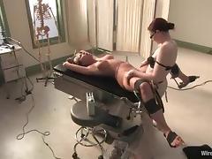 Hospital, BDSM, Blonde, Bondage, Doctor, Femdom