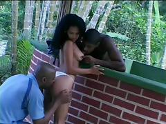 Brazil, Babe, Blowjob, Brazil, Ebony, Threesome