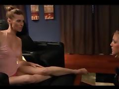 a lesbian mistress use her new slave part 1 of 4