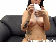 Sexy Nerd Anal Sex Casting tube porn video
