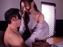 Blindfolded, Amateur, Asian, Blindfolded, Couple, Japanese