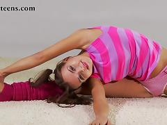 Zina Salaskina - Gymnastic Video part 2 tube porn video