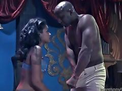 A huge black cock will make that ebony stun so loud