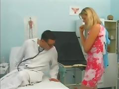 Blonde Babe With Hot Ass In Hardcore Sex Action With Her Doctor