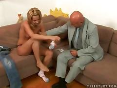 Grandpa, 18 19 Teens, Blowjob, Compilation, Grandpa, Lick