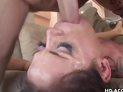 MILF pornstar Savannah Stern is skullfucked