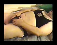 black roots spandex two piece tube porn video