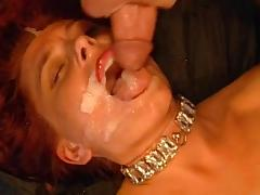 Milf redhead Mascha is fucking in doggy style tube porn video