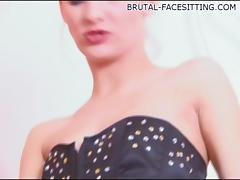 Brutal-FaceSitting Video: Irina Onyx tube porn video