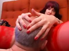 Nora and grandpa love oral tube porn video