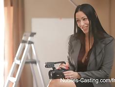 Nubiles-Casting Video: Vanilla Deville & Carmen Callaway