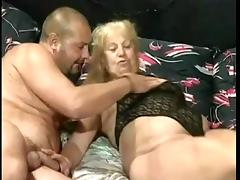 Big Tits, Aged, Big Tits, Foursome, German, Group