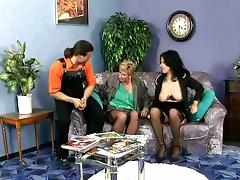 Exquisite Amada And Eve Do A Naughty Threesome