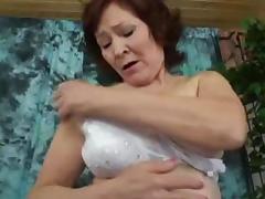 Oriental Granny tube porn video