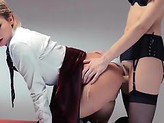 Neverending strap-on lesbs action