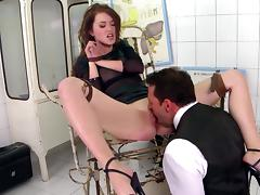 Misha Cross fuck with a gentleman in her anal hole