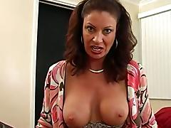 This Incredible Busty MILF Seduces Horny Dude To Bang Her Cunt