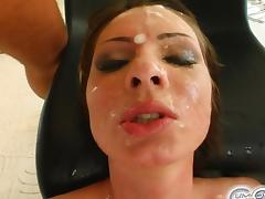 Bukkake, Banging, Blindfolded, Blowjob, Boobs, Bukkake