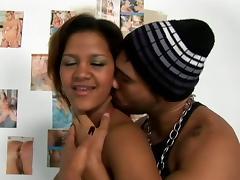 Hot, Horny Ebony Couple Fucking Like Crazy Doggystyle
