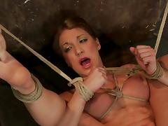 Amy Brooke gets her clit pumped and her snatch fingered
