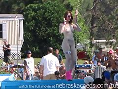 strippers raw and naked in public
