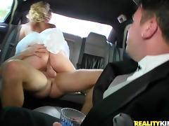 Car, Bride, Car, Cowgirl, Cuckold, Dress