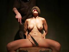 Delicious Beretta James Becomes A Slave In This BDSM Clip
