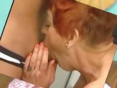 Granniesloves younger boyfrends's cum