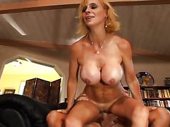 Smothered in MILF tits