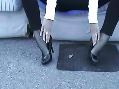 Boots, Amateur, Boots, Feet, Stockings