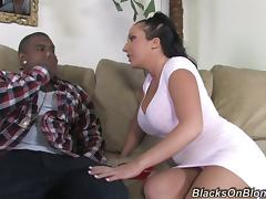 Her highness wants some fat black cock