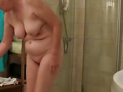 Bathing, Bath, Bathing, Bathroom, Granny, Mature