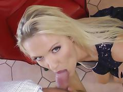Beauty, Beauty, Blonde, Blowjob, Cum, Cum in Mouth