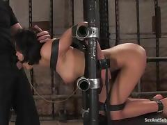 Chained, BDSM, Bondage, Drilled, Fetish, Pussy