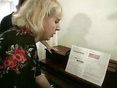 Piano, BBW, Facial, Mature, Piano