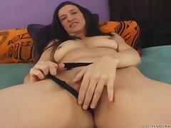 Mature Gina Rome gets her hairy pussy fucked and creampied
