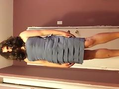Me trying a dress 2 tube porn video