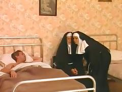 Threesome, Group, Nun, Orgy, Penis, Threesome