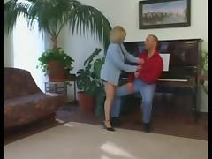 blond granny screwed