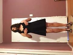 Me trying on dress 4