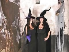 Huge-Boobs Bbw-party at halloween porn tube video