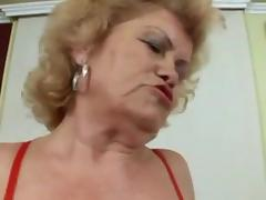 Hot Hirsute Granny porn tube video