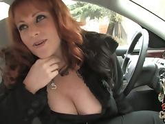 Gorgeous MILF With Big Tits Kylie Ireland Picks Up Black Stranger tube porn video
