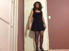 me crossdressing