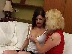 British Lesbian Grannies two part two porn tube video