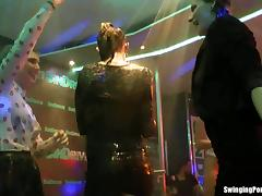 Wet girls dancing erotically in a club tube porn video